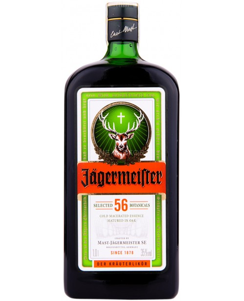 jagermeister is what type of alcohol